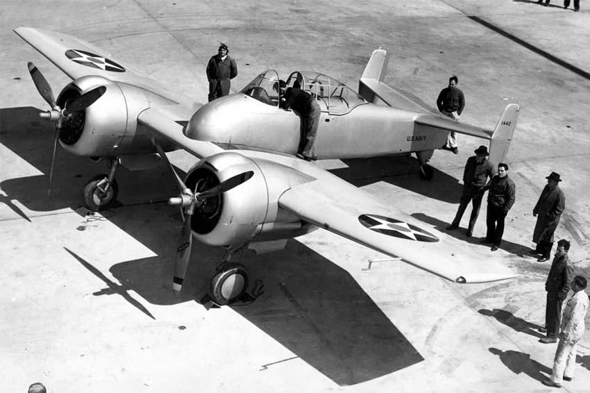Базовая конфигурация XF5F-1 Sky Rocket