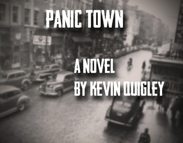 Panic Town Cover Modified Twice