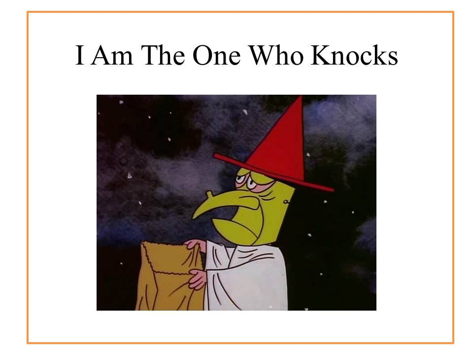 Who-Knocks