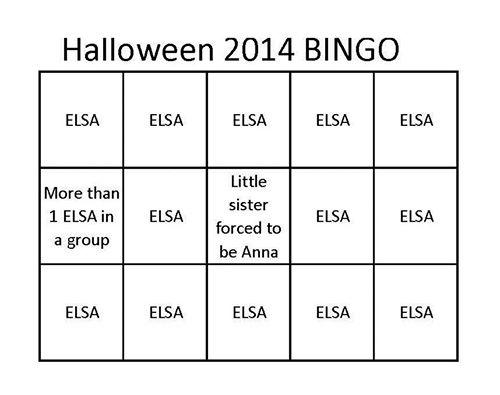 Elsa-Bingo