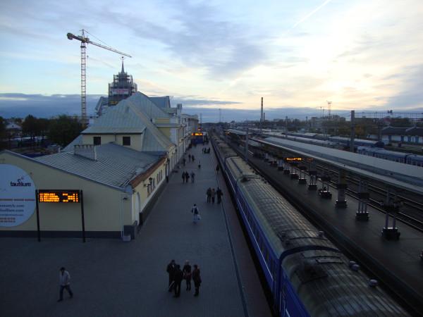 Брест. Вокзал в Бресте