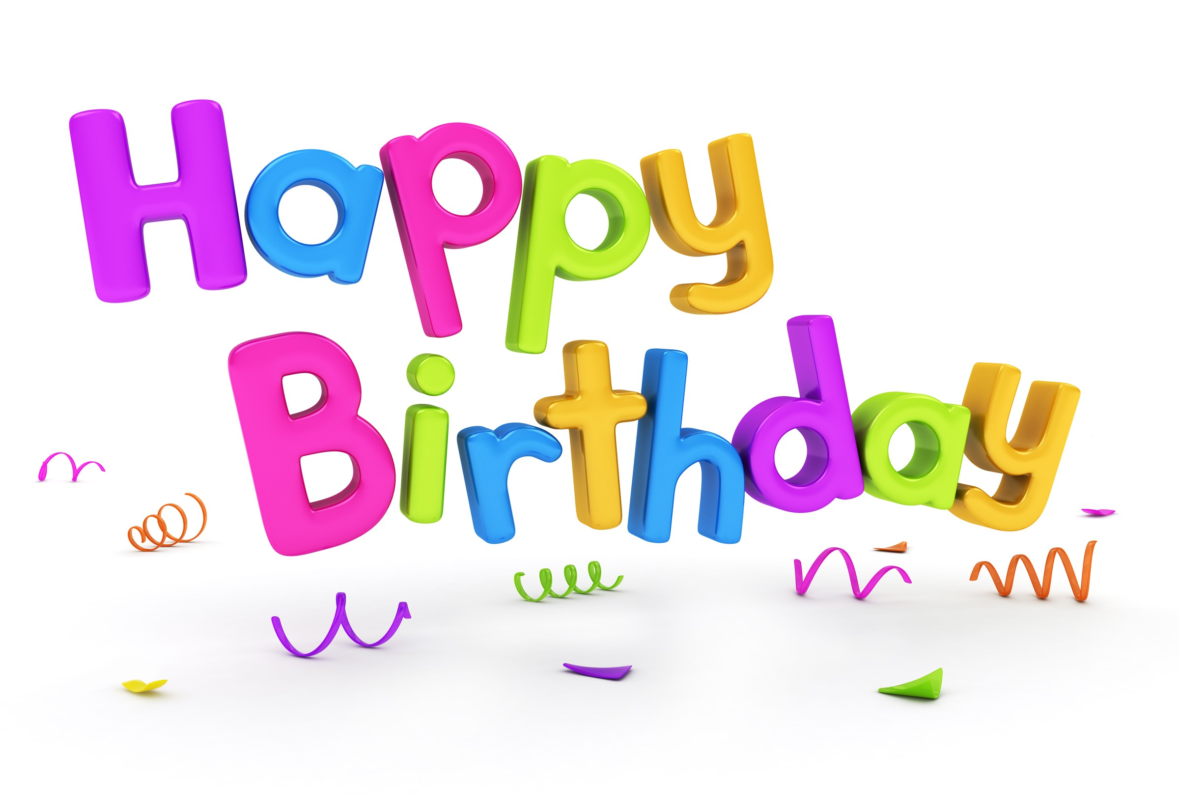 happy birthday plain