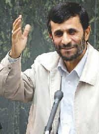Iranian President Ahmedinejad