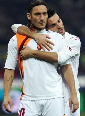 Luca Toni and lover