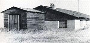 MASJID Ross pada peringkat awal awal pembinaannya pada tahun 1929.
