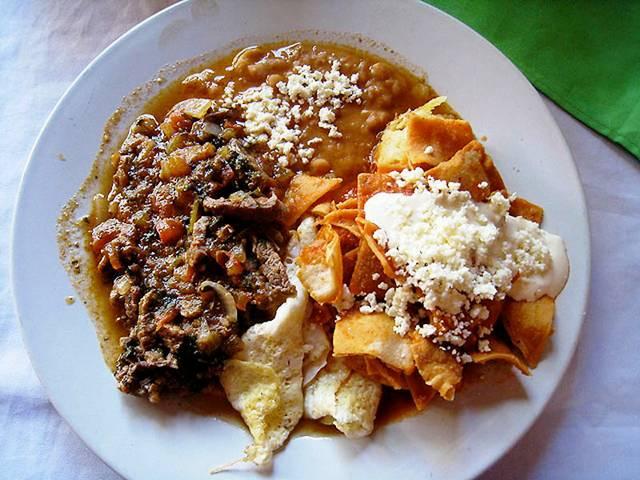 27 Breakfast in Mexico