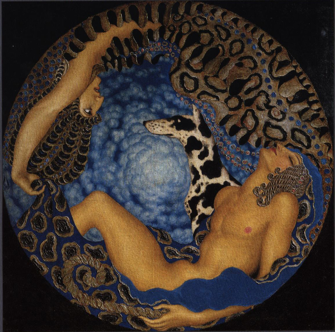 Kalmakov-Artemis_and_Sleeping_Endimion