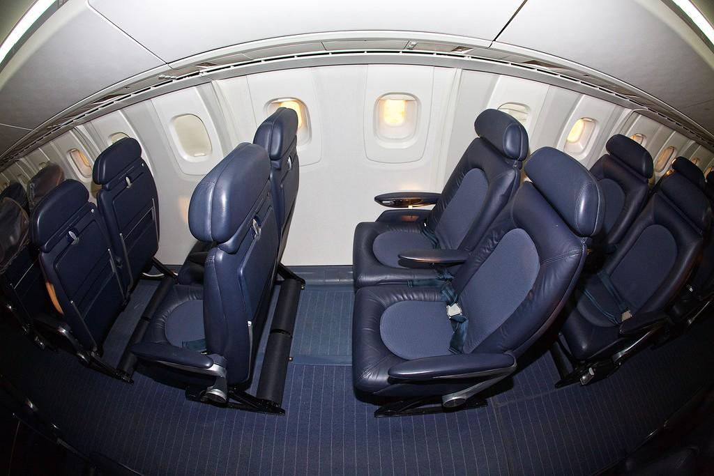 Фото салона самолета конкорд
