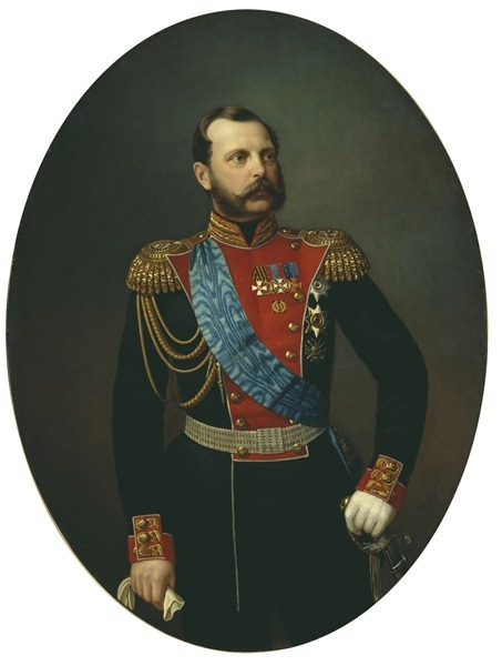 Тюрин Иван (1824-1904). Александр II. 1881. Холст, масло