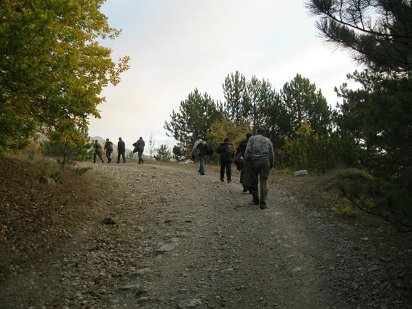Восхождение на гору Роман-Кош.