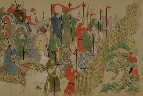 Монголы_Япония