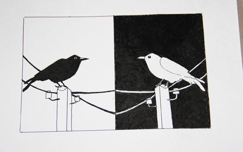 две вороны