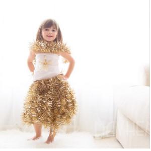 бумажное платье 3