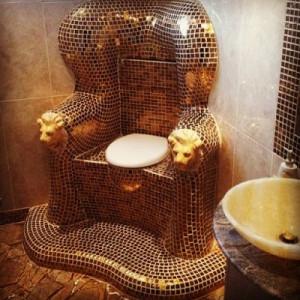 золотой трон