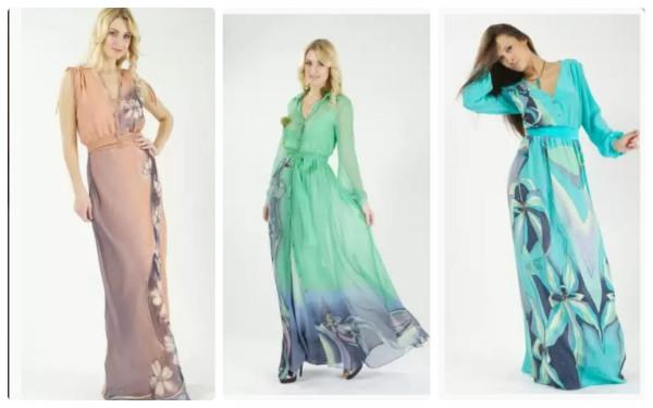 коллаж платья