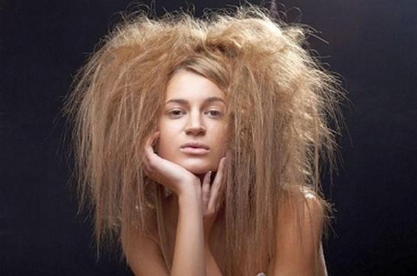 всклоченые влосы