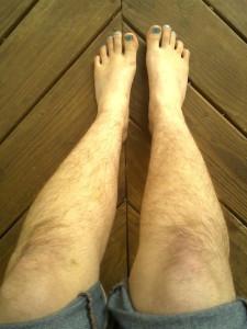 ноги семь