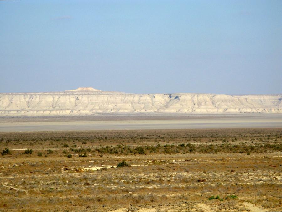 Впадина Каунды, полуостров Мангышлак, Казахстан
