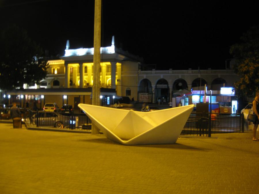 Одесса. Ночь. Новая Старосенная площадь.Ночной Привоз.
