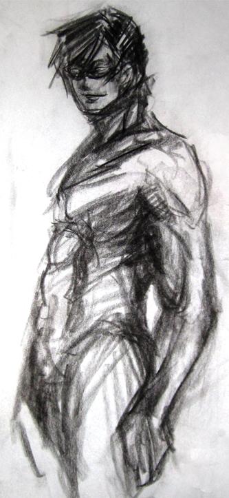 Charcoal Nightwing
