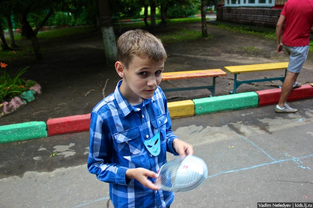 первый день знакомства с детьми в детском лагере
