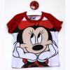 10. Цена 250 руб . Стильная футболка для девочек Минни Маус. Состав: 100% хлопок. Размеры:S (100см), M (115см), L (130см)