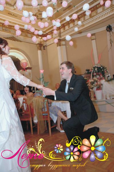 Украшение свадьбы воздушными шарами Лето 15