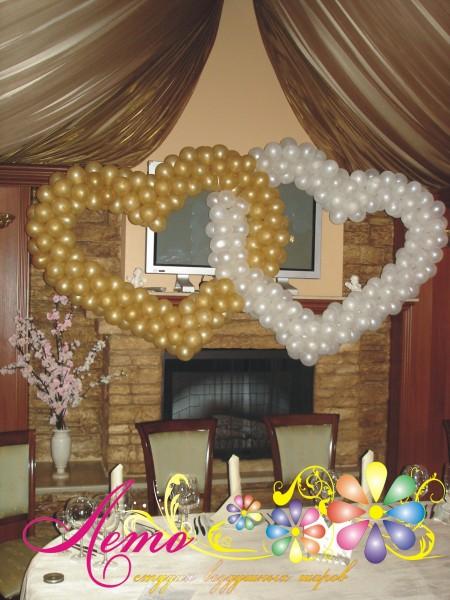 Украшение свадьбы воздушными шарами Лето 27