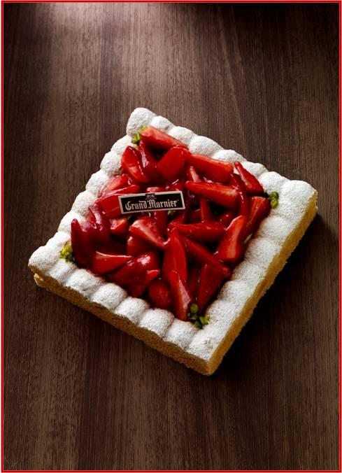 Dacquoise fraise