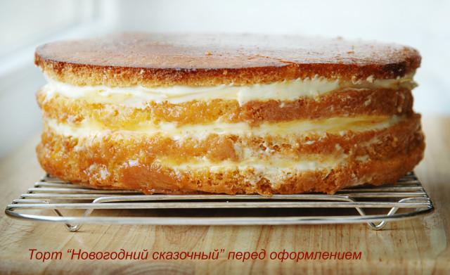 Очень вкусный торт с маскарпоне