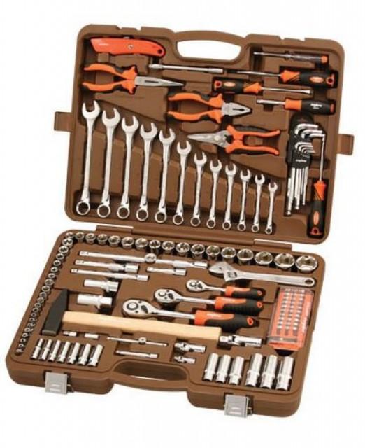 alltools.com.ua, весь инструмент, коллаж, Универсальные наборы инструмента, OMBRA, Универсальный набор инструментов, 131 предмет