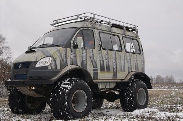 Автолегенды СССР и Соцстран №196 ГАЗ-27527 «Соболь»