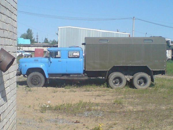зил-133 даблкэб