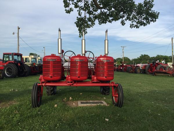 farmall triple engine