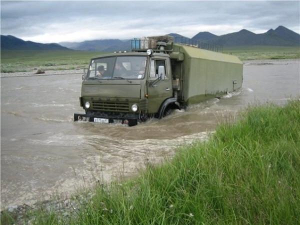 камаз-река