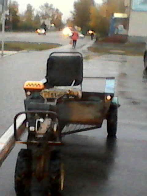 мотоблок-такси