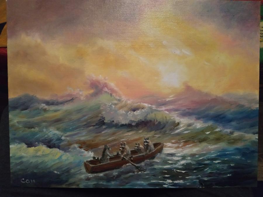 еноты-море