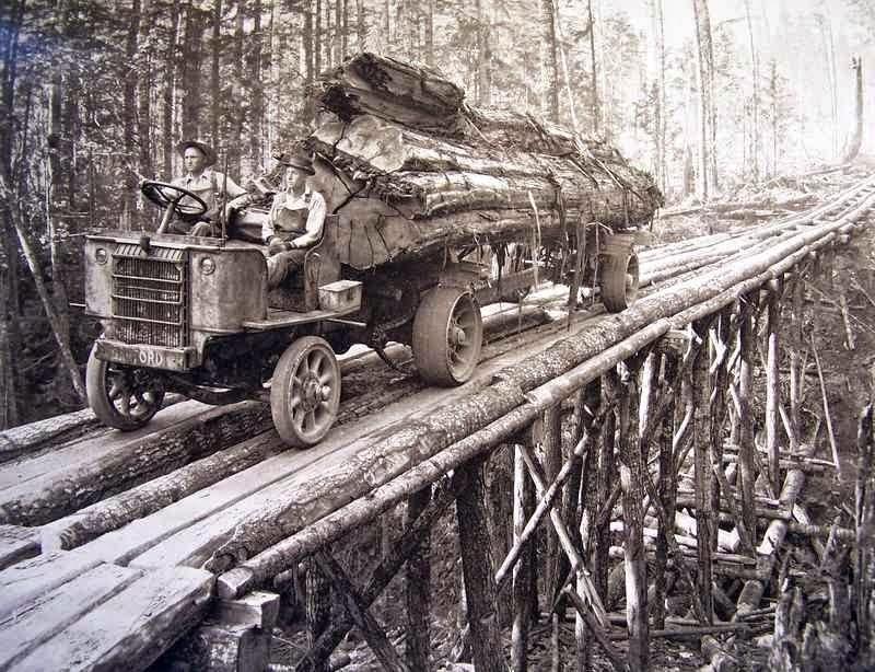 лесовоз-старинный-америка