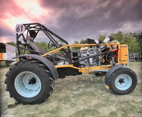 cross-tractor