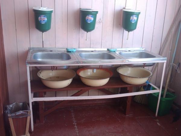 деревенская школа.