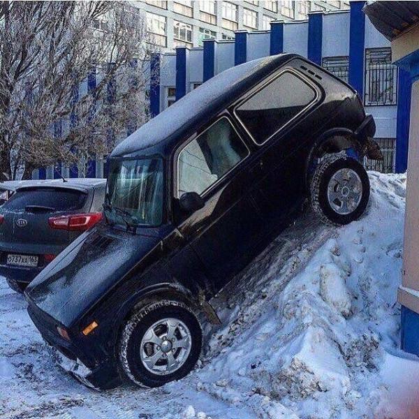нива парковка