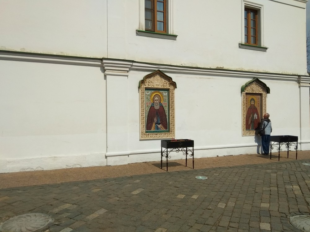 Ушла в монастырь