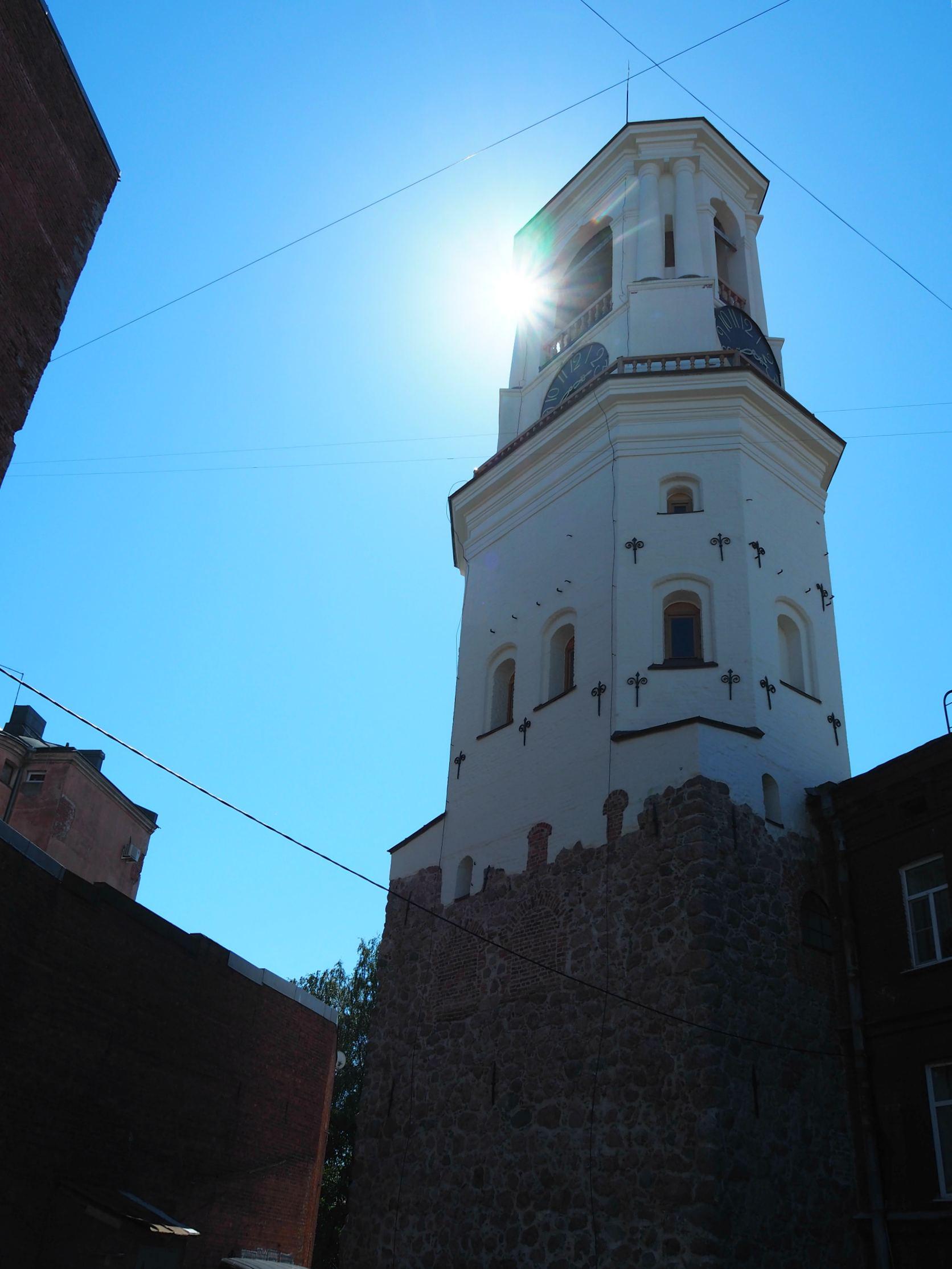 Выборг, часовая башня