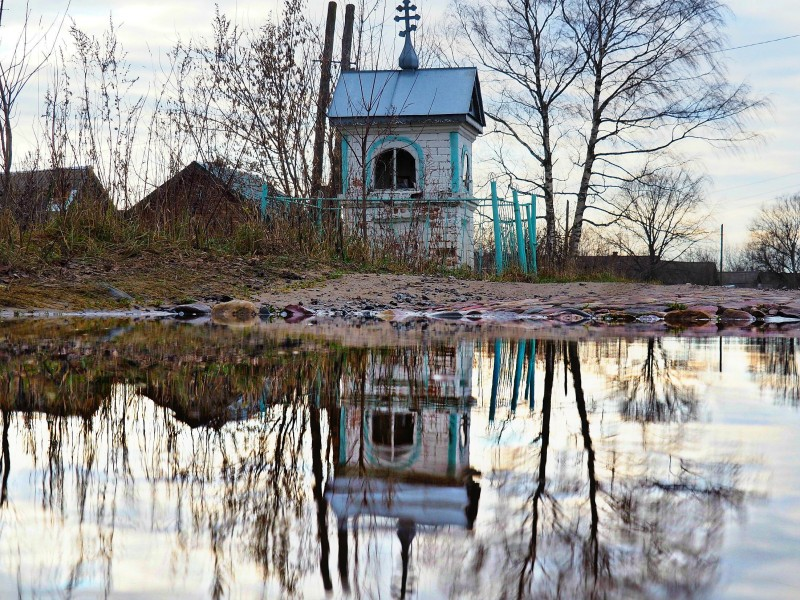 Часовня в селе Стиберское