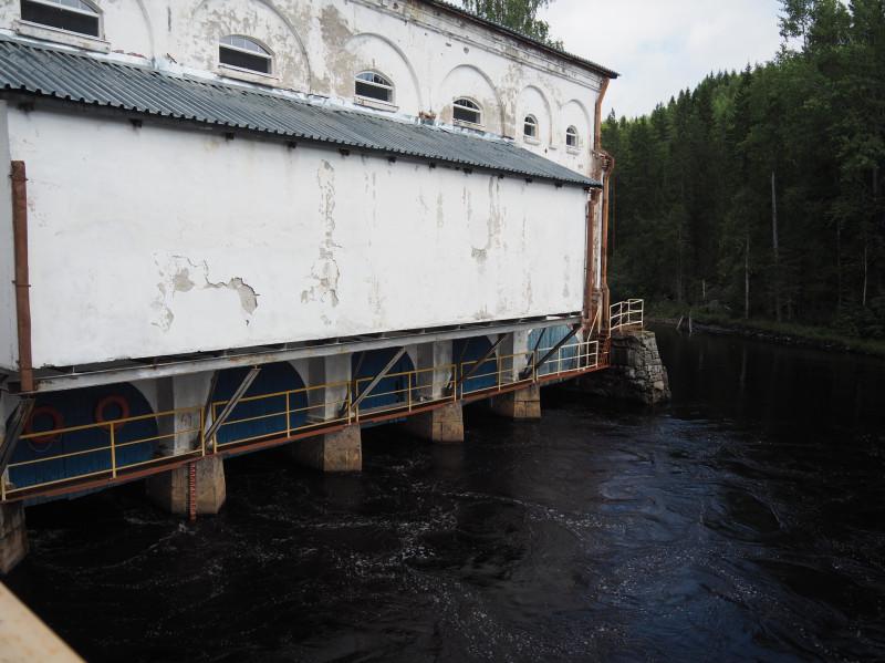 Старейшая ГЭС в Хямекоски