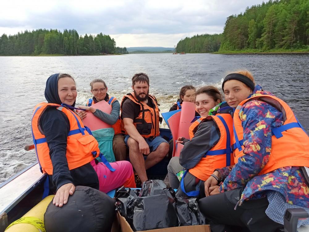 Мергубское озеро, Карелия. Большое приключение