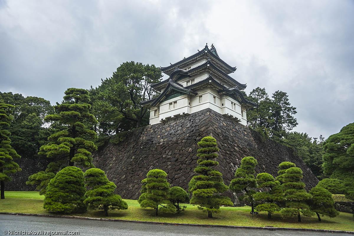 является традиционным замок в токио фото рисуется