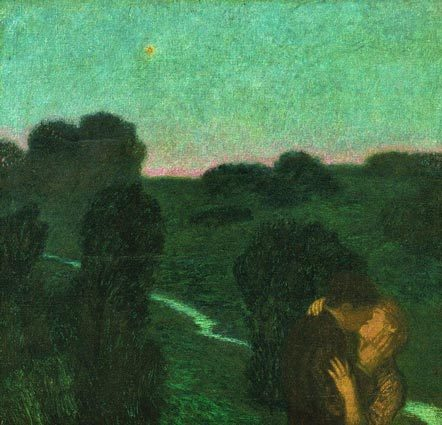 Franz von Stuck's Der Abendstern (The Evening Star)