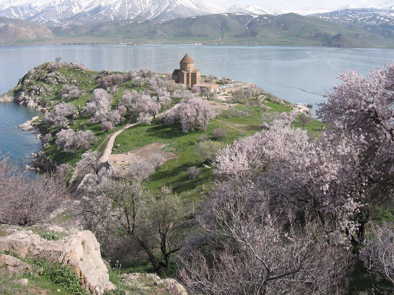 Восточная Анатолия (Турция) оз. Ван