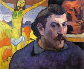 Gauguin: Self Portrait with Yellow Jesus